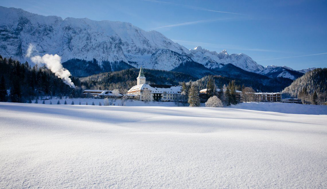 Exklusive, Alpine Hot-Spots im Winter.